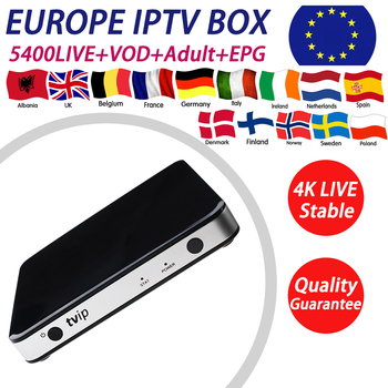 TVIP 605 tv box with android Linux OS+1 year Europe UK Albania