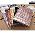 For Apple ipad 2 3 4 Auto Wake Up Sleep Flip Weave Leather Case For new ipad 3 ipad 4 Cover with Smart Stand