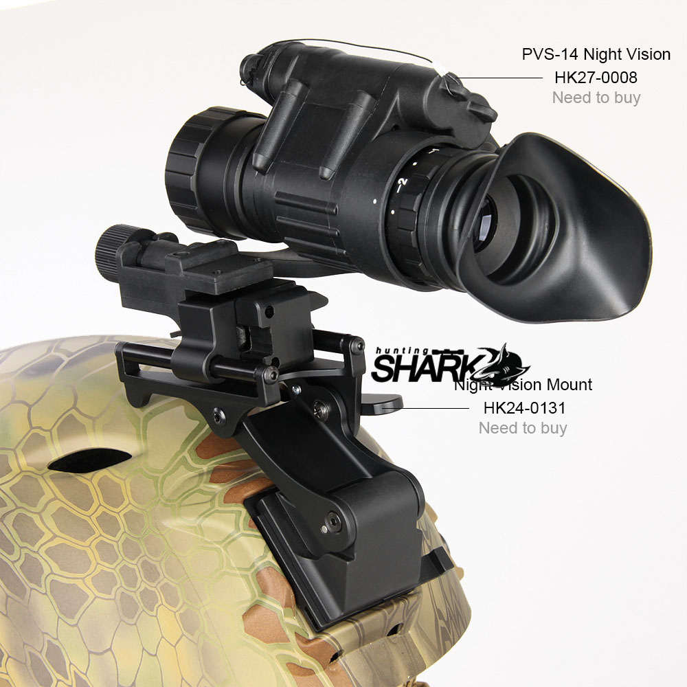 Helmet Adapter Mount For Night Vision Scope