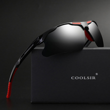 ФОТО original brand hd lens photochromic polarized sunglasses men driving day and night vision goggles sun glasses eyeglasses