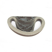 10 pieces/lot 330*10mm 457*13mm Aluminium Oxide sanding sand belt for sander