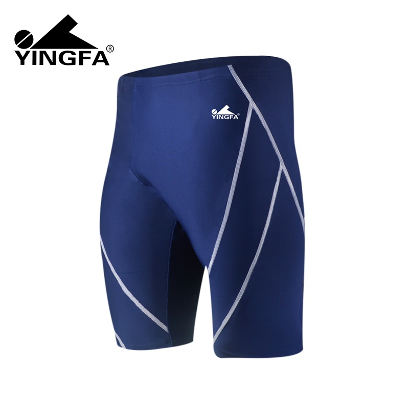 de17ce324ebc6 Yingfa Boys racing swimwear natacion competition child competitive swimsuits  short homme swimming trunks men swimsuit mens