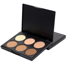Professional Makeup Concealer Palette 6 Colors Contour Face Make Up Corretivo Pores Maquiagem Concealer Cream Facial Foundation