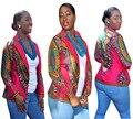 2016 Африканских Платье Африканских Одежды Платья Цю дон Сексуальные Ретро Национальный Благоприятный Большой Моды Подходит Африка Печати Пальто