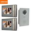 7-дюймовый монитор видеодомофон  домофон  система ИК ночного видения  сплав  дверная камера  проводной видео комплект оборудования для домоф...
