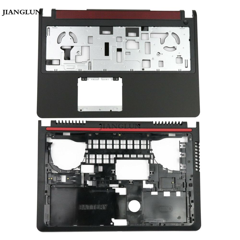 JIANGLUN Used For <font><b>Dell</b></font> <font><b>Inspiron</b></font> <font><b>15</b></font> 7000 <font><b>7559</b></font> Upper Palmrest (without Touchpad) + Bottom Case Cover image