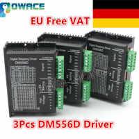 [EU&US Delivery/Free VAT] 3Pcs DM556D Digital Stepper Motor Driver DC 24-50V 5.6A High performance for CNC Router