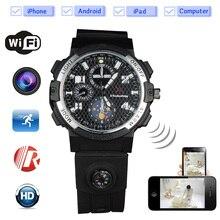 2017 The First Remote Monitoring Wifi Camera Smart Watch Unique Design Hd720P CCTV Camera Moverable Wearable Device for Driver