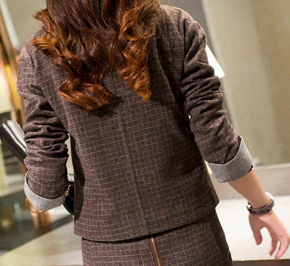 Women-Business-Suits-Formal-Office-Suits-Work-2015-Autumn-New-Blazer-Skirts-Two-Siuts-High-Quality (4)