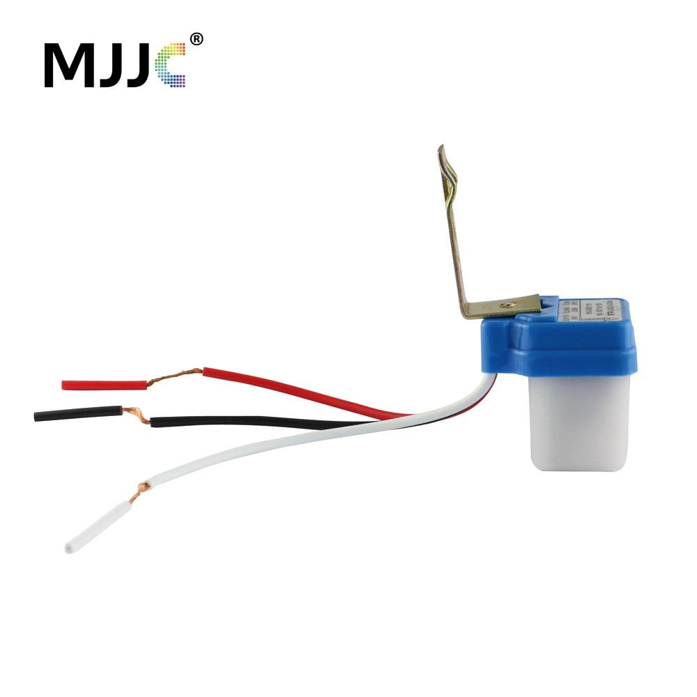 Уличный светильник 220 В 110 в 12 В 24 В AC DC 10A с автоматическим включением
