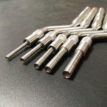 Implante Dental, instrumentos de osteotomo, elevación sinusal, Bended (puntas cóncavas)