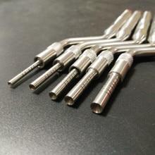 Instrumentos de osteotome implantante dental dobrado (pontas côncavas)