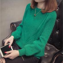 women casual knitwear 2019 autumn pullover o round neck long sleeve fashion winter pullovers