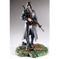 9.05Game PUBG Battle Royale 98K Tonight To Eat Chicken M416 PVC Art Craft Decoration Action Figure Collectible Model Toy T114
