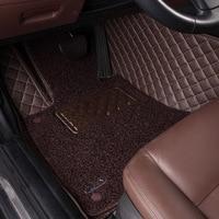 Пользовательские автомобильные коврики для Honda Fit Civic 2006 2011 Accord CRV Odyssey XRV Джаз город Crosstour S1 Crider авто коврики аксессуары 2017