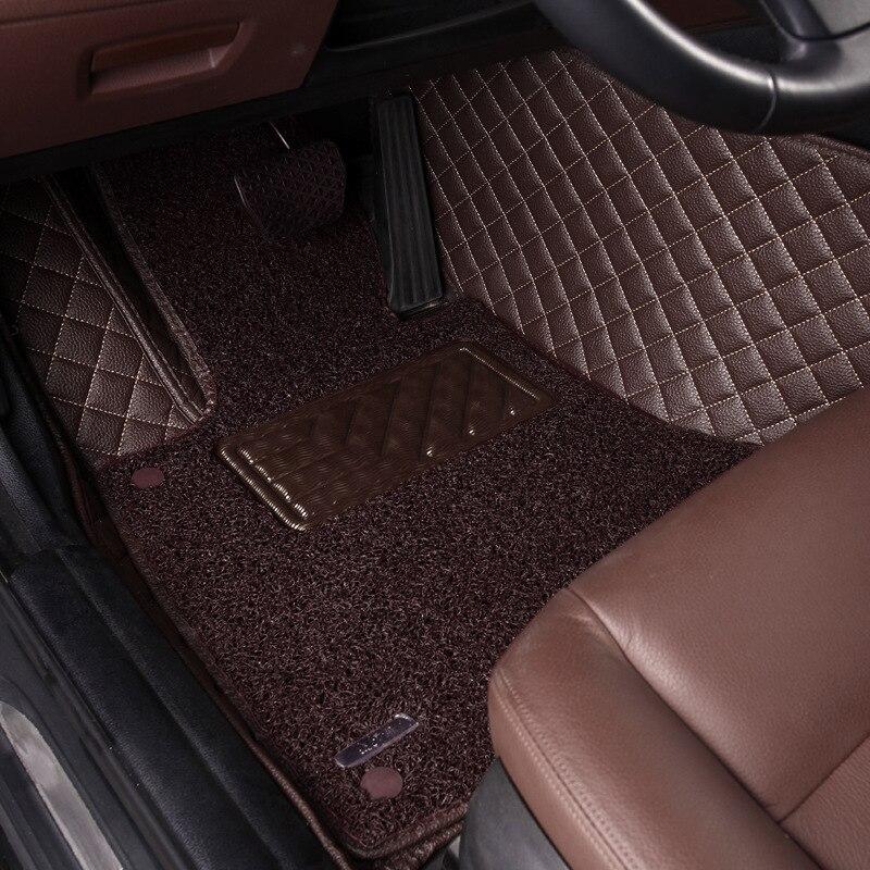 Personalizado Tapetes de Carro para Honda fit Civic 2006-2011 accord CRV XRV Cidade Jazz Odyssey crosstour CRIDER auto esteiras S1 ACESSÓRIOS 2017