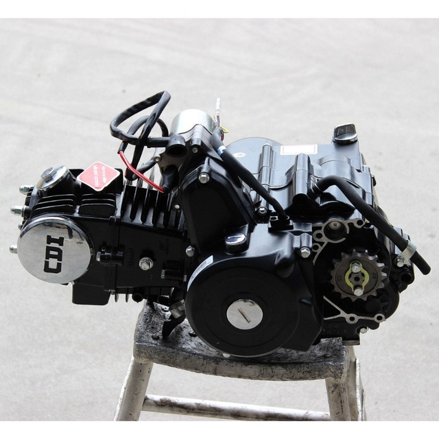US $209 0 |125CC AUTO ENGINE MOTOR ELECTRIC START ATV QUAD GO KART 70CC  110CC ATOMIK KIT-in ATV Parts & Accessories from Automobiles & Motorcycles  on