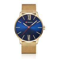 2018 CURREN Men S Fashion Business Quartz Sports Watch Luxury Military Wristwatches Rubber Relogio Masculino 8238