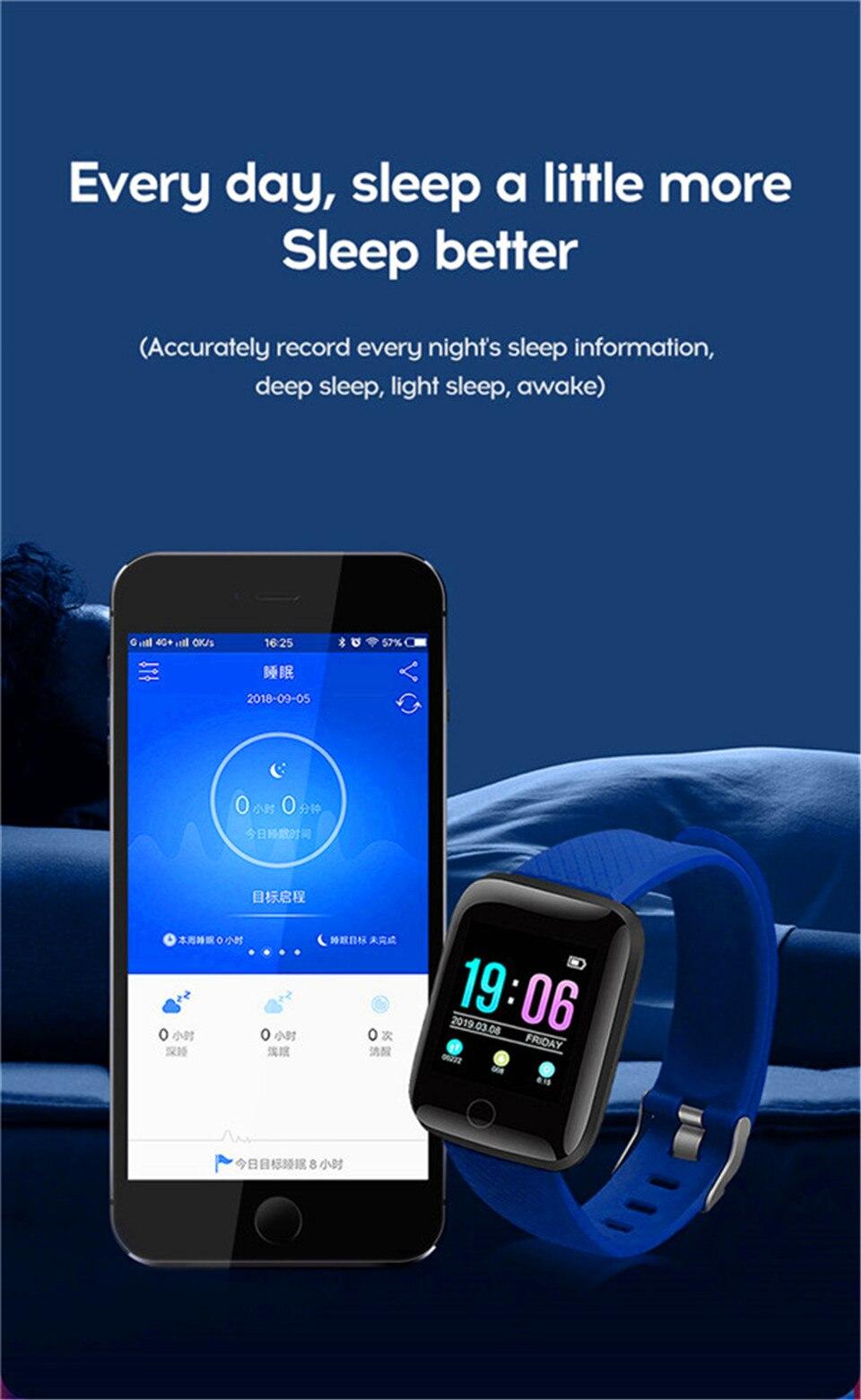 HTB1on6oOY2pK1RjSZFsq6yNlXXas Smart Wristband Heart Rate Monitor Smart Fitness Bracelet Blood Pressure Waterproof IP67 Fitness Tracker Watch For Women Men