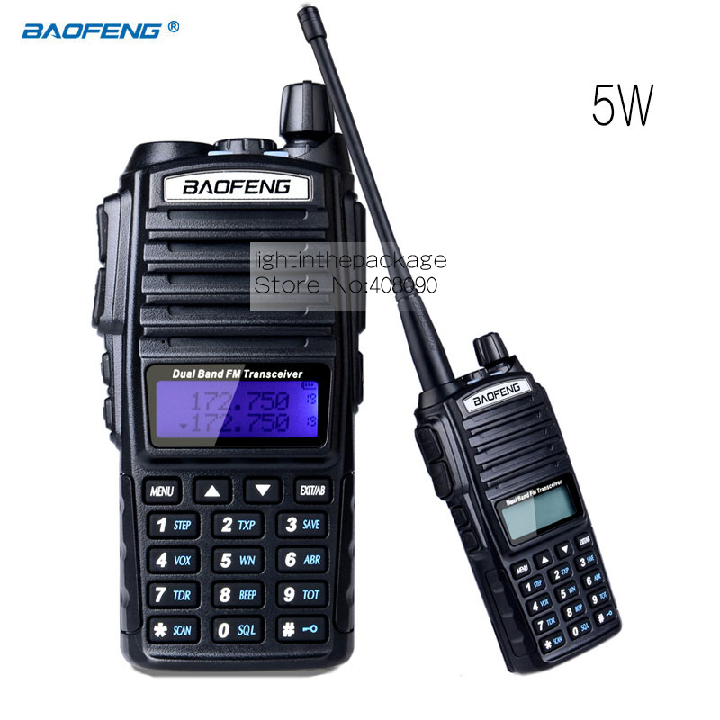 bilder für Baofeng UV-82 walkie talkie cb radio UV82 tragbare zweiwegradio FM radio transceiver langstrecken-dualband-transceiver baofeng UV82