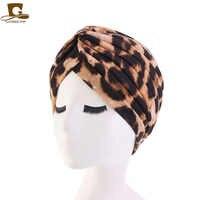 New women soft Floral Print Cotton Women Turban Fashion Banadans Cancer Headwrap Chemo Cap Head Wrap Hair Accessories
