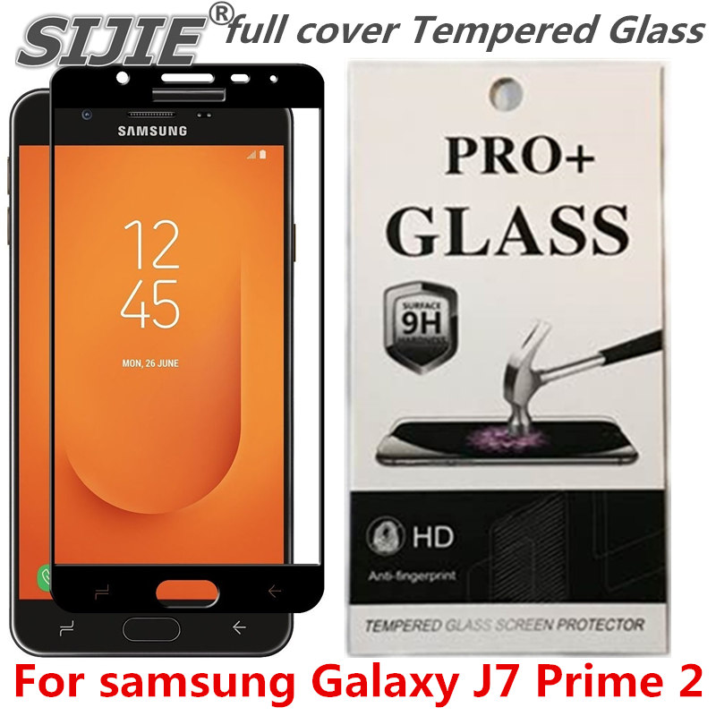 full cover Tempered Glass For samsung Galaxy J7 Prime 2