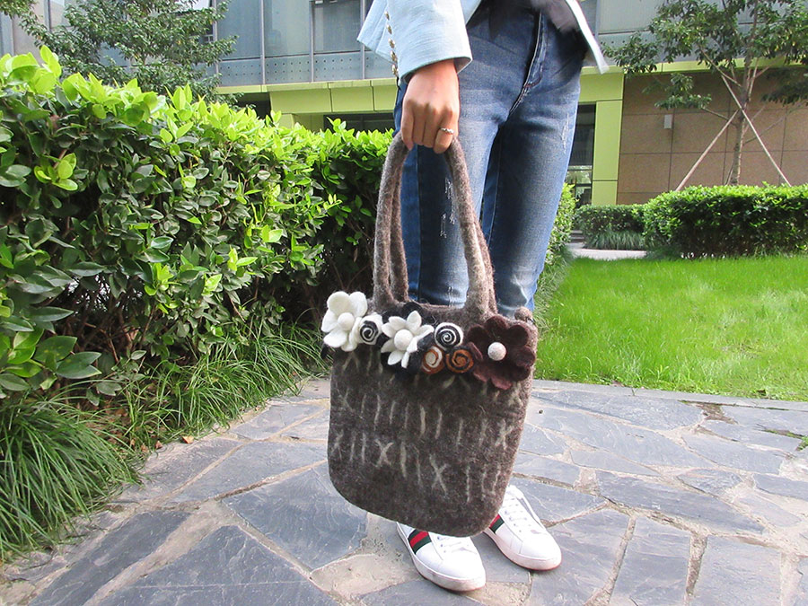 High Quality wool bag
