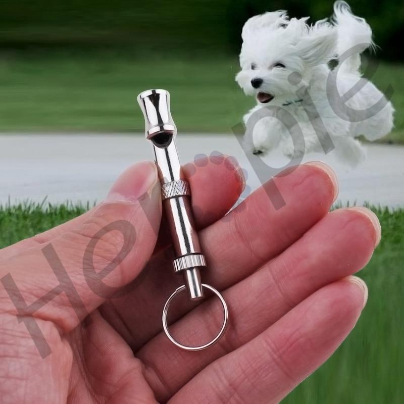 Heropie 1 buc de înaltă calitate metal câine Puppy Whistle - Produse pentru animale de companie