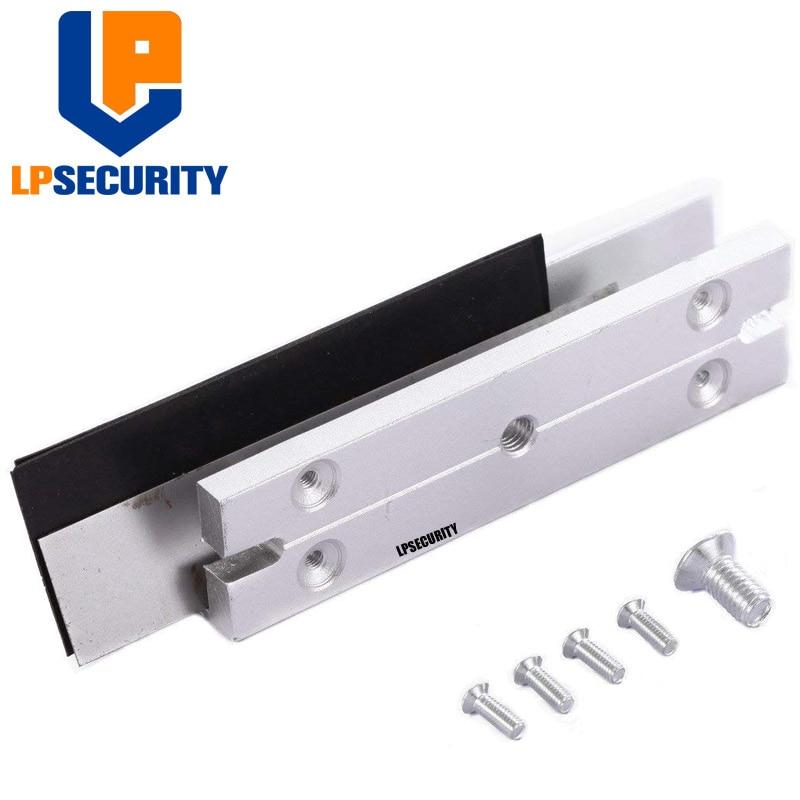 Easy Installation U Bracket for 180 Kg Magnetic Lock for Glass Doors Stainless Steel