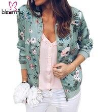 Petit Prix Women À Bomber Jacket Des Lots Flower Achetez D2EIHW9