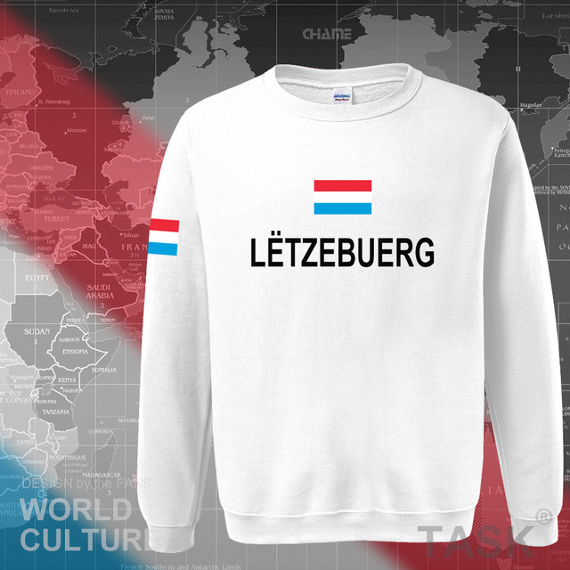 Luxembourg Luxembourger hoodies men sweatshirt sweat new hip hop streetwear clothing sporting tracksuit nation LUX Luxemburg 5