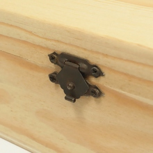 Four Compartments Wooden Box