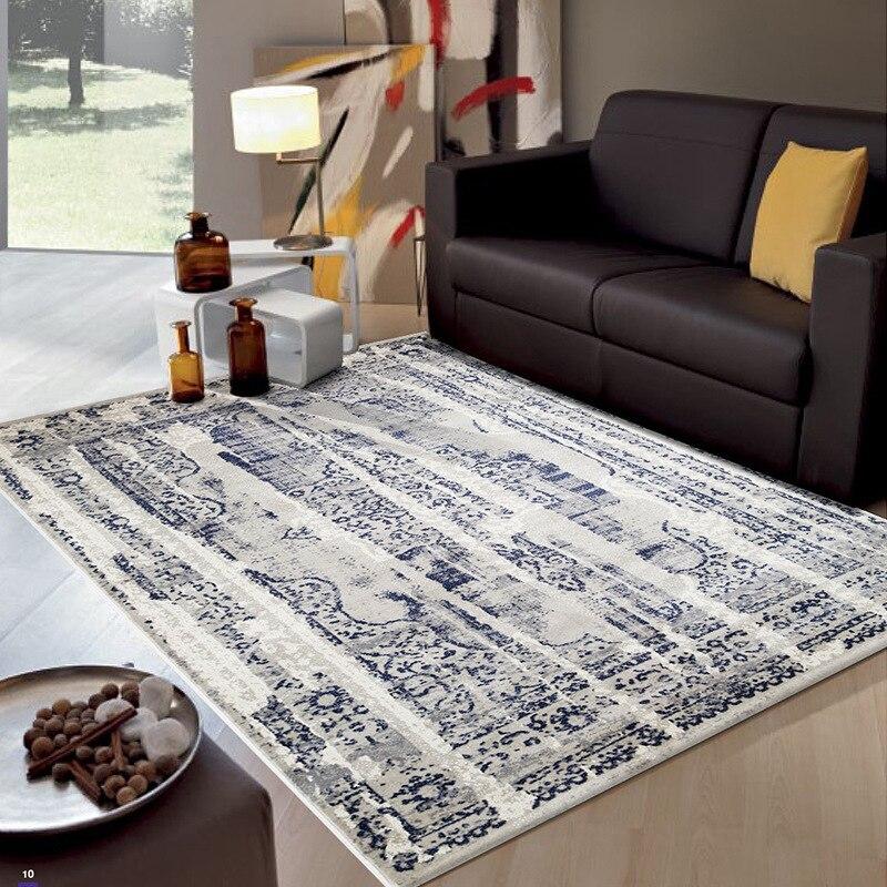 Tapis nordiques pour salon tapis d'étude polypropylène grand tapis chambre décor à la maison canapé Table basse tapis de sol salle à manger tapis