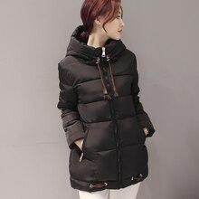 Plus Size 2016 Winter Down Jacket Women Coats Parka Slim Jackets Brand Design Female Windbreak Coat Parkas