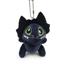 How to Train Your 3 Anime Plush Toys Key Chain 10pcs Toothless Dragon Cartoon Soft Stuffed Dolls Pendant For Kids Cute Gift