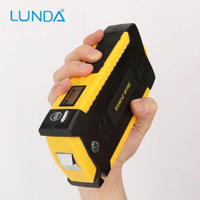 LUNDA  4USB 19B Diesel Car jump starter   for car Motor vehicle booster Car batteres  battery discharge rate  power bank