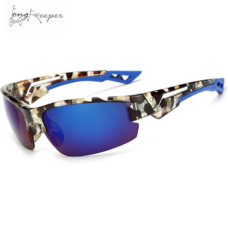 Long Keeper Cycling Glasses Leopard Frame Eyewear Outdoor Sport Sunglasses Men Women Gafas Ciclismo