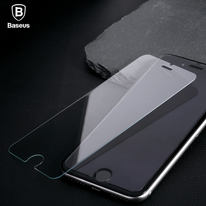 New Arrival Baseus High Transparency Tempered Glass Screen Protector Film For Iphone 7 7 Plus Not