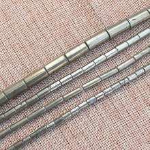 Tubo naturale della Pirite Branelli Allentati 15 inch per filo, Per DIY Monili Che Fanno! forniamo il commercio all'ingrosso misto per tutti gli articoli!