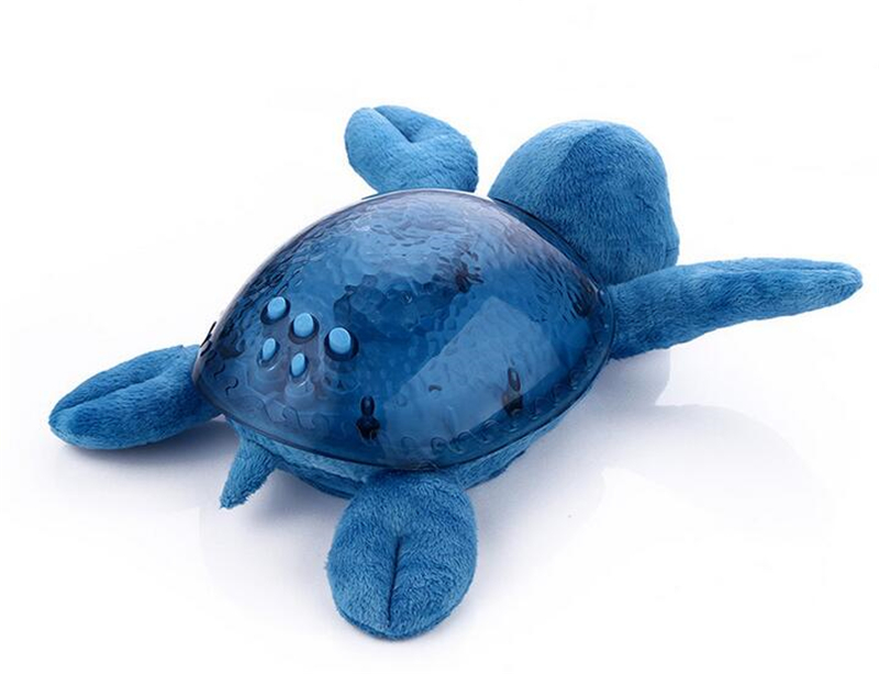 Licht Projector Baby : Animal turtle baby sleeping led night light ocean blue wave
