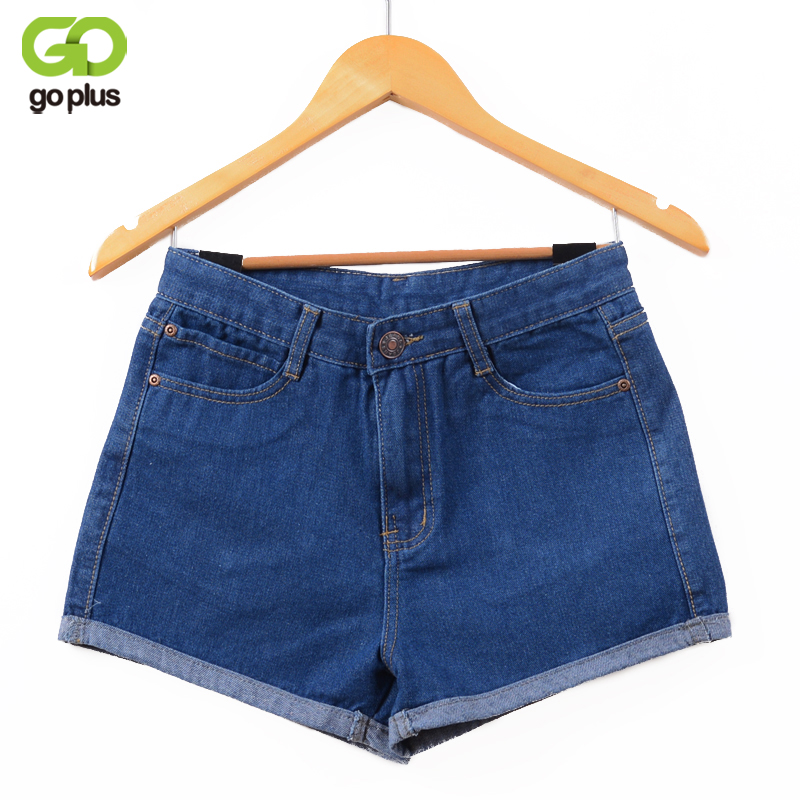 GOPLUS 2018 New Hot Women's Jeans High Waist Stretch Denim Shorts Slim Jeans Feminino Brand Summer Spring Plus Size 26-32 C2296