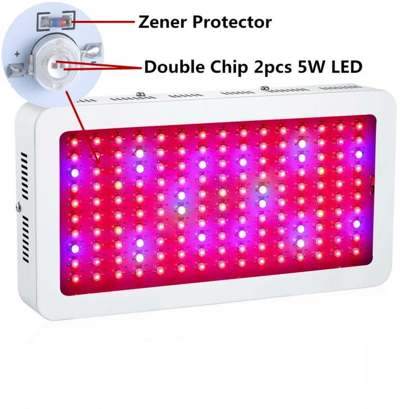 Super Qoşa Chip 10W LED Muncuq Hydroponics Böyüdücü Çıraq ilə - Professional işıqlandırma məhsulları - Fotoqrafiya 6