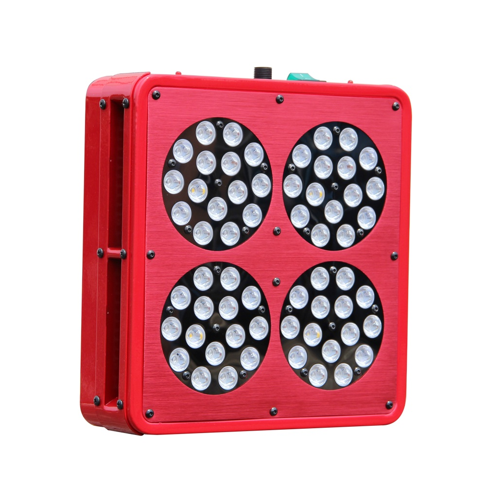 Image 2 - Apollo 4 Full Spectrum 300W LED Grow light 10band With Exclusive 5W Grow LED For Indoor Plants Hydroponic System High Efficiency-in LED Grow Lights from Lights & Lighting