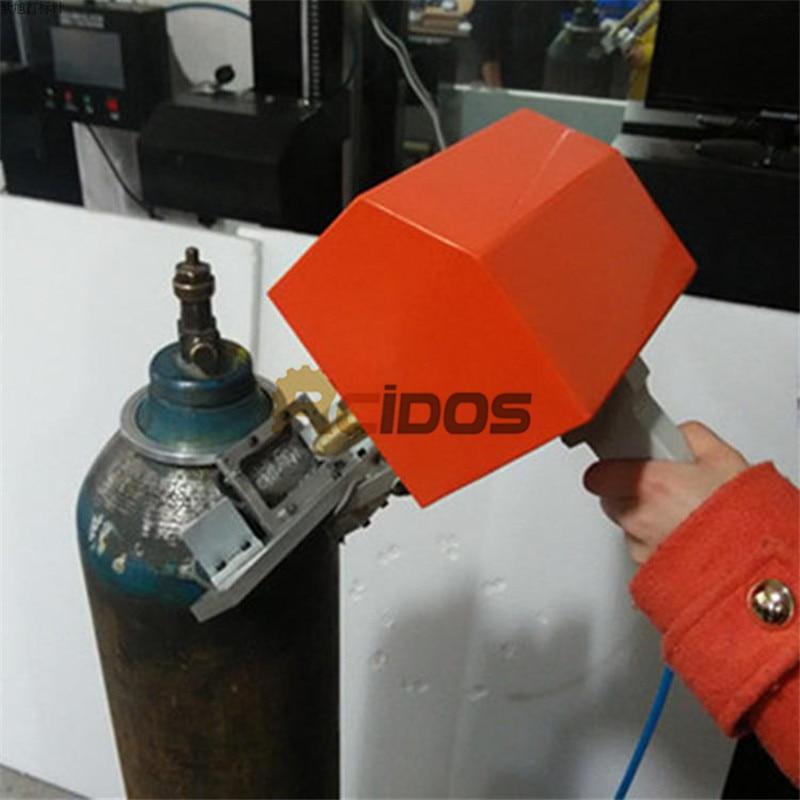 PMK-G01 RCIDOS Portable VIN Number Marking Maching,Oxygen,nitrogen,carbon dioxide steel air tank batch number printer,80*40mm