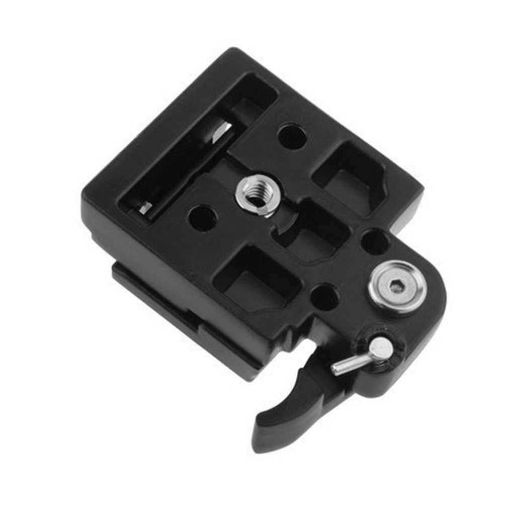 Tripod Quick Release Plate Screw Adapter Clamp Camera Mount Head For SLR Camera Stabilizer Assembly With Safety Lock