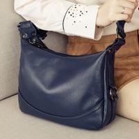 Genuine Leather Women Bag Ladies Shoulder Crossbody Bag Luxury Handbags Fashion Messenger Bag Female Large Tote Purse sac a main