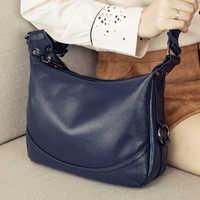 Véritable cuir femmes sac dames épaule sac à bandoulière de luxe sacs à main mode Messenger sac femme grand fourre-tout sac à main
