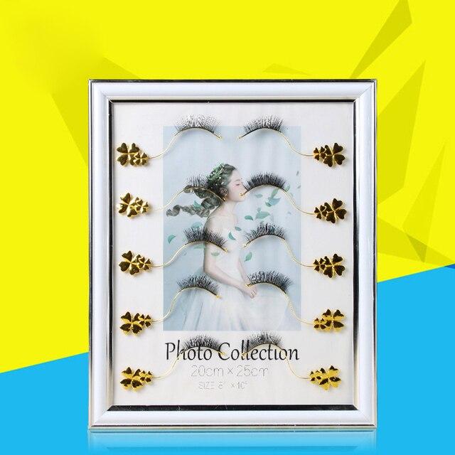 1 pairs Grafted False Eyelashes High grade Flower Display Frame ...