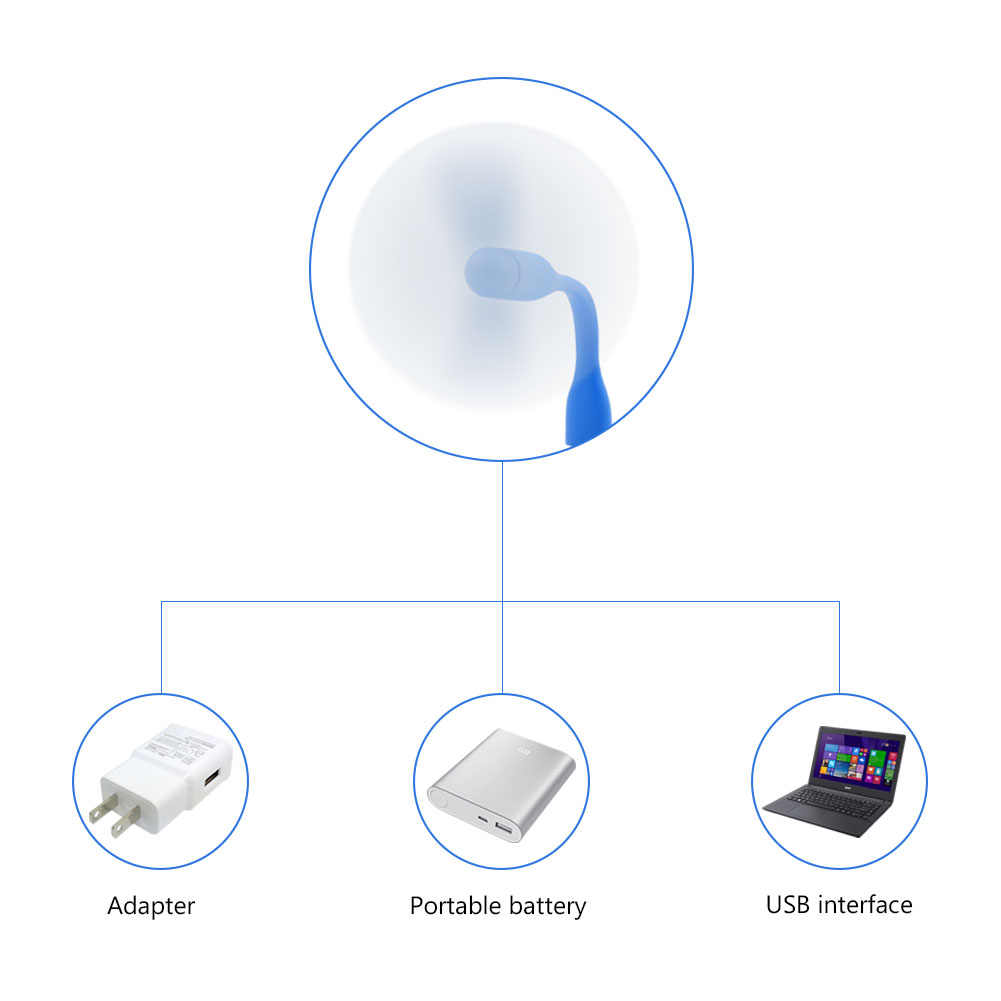 נייד 6 צבעים מיני קירור מאוורר USB מיקרו USB 2.0 אוהדי גמיש קיץ גאדג 'ט באיכות גבוהה עבור Tablet כוח בנק מחשבים ניידים