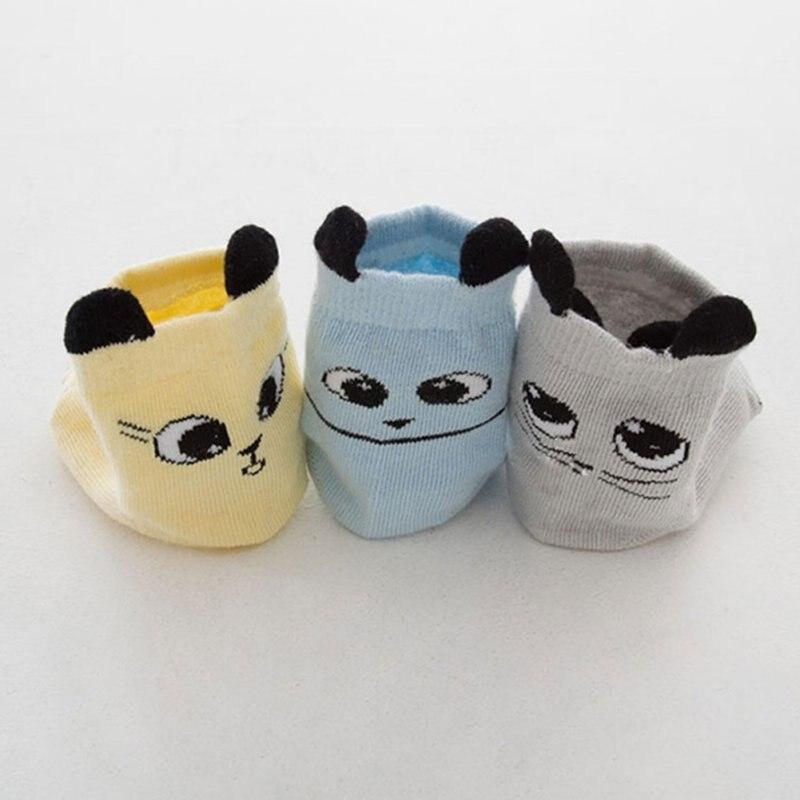 Cotton Born Socks No-slip Baby Infant Cartoon Socks